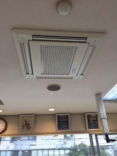 クリアテックの空気清浄器(集塵、除菌、脱臭)